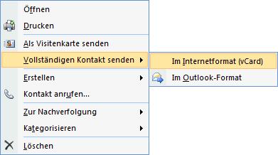 Weiterleiten Eines Kontakts Outlook Tipps Tipps Office
